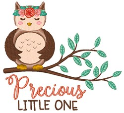 Precious Little One embroidery design