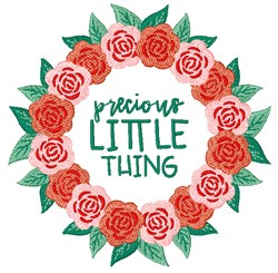 Precious Little Thing embroidery design