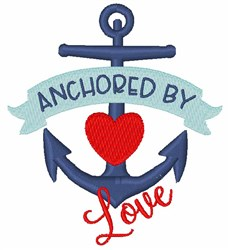 Anchor By Love embroidery design