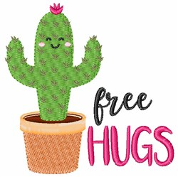 Free Hugs embroidery design