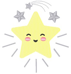 Twinkle Star embroidery design