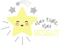 Star Light embroidery design