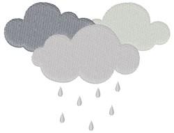 Rain Clouds embroidery design