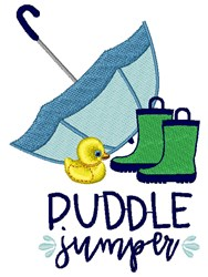 Puddle Jumper embroidery design