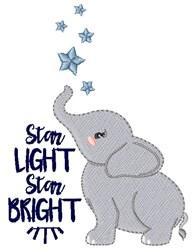 Star Light, Star Bright embroidery design