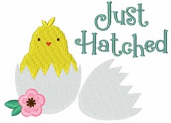 Just Hatched embroidery design