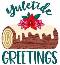 Yuletide Greetings embroidery design