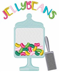 Jelly Beans Candy embroidery design