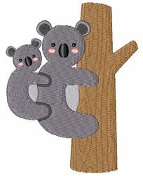 Koala Bears embroidery design