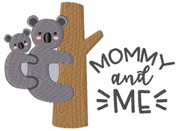 Mommy And Me embroidery design