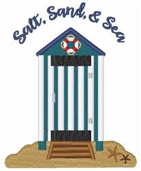 Salt, Sand, & Sea embroidery design