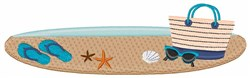 Beach Accessories embroidery design