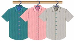Mens Shirts embroidery design