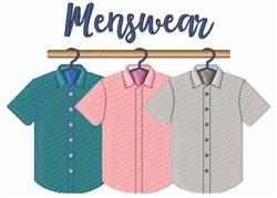 Menswear Shirts embroidery design