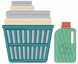Laundry Basket embroidery design
