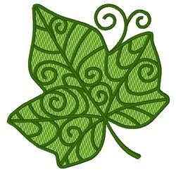 Decorative Ivy Leaf embroidery design