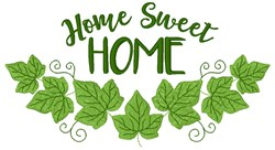 Ivy Home Sweet Home embroidery design