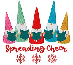 Spreading Cheer embroidery design
