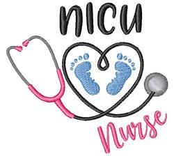 NICU Nurse embroidery design