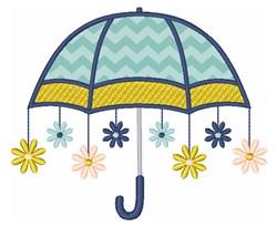 Daisy Umbrella  embroidery design