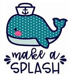 Make A Splash embroidery design