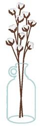 Cotton Branches embroidery design