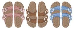 Birkenstock Hippie Sandals embroidery design