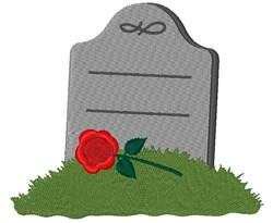 Halloween Grave Headstone embroidery design