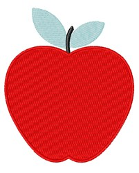 Simple Apple embroidery design