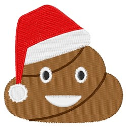 Christmas Poop embroidery design
