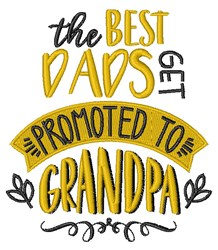 Best Dads embroidery design