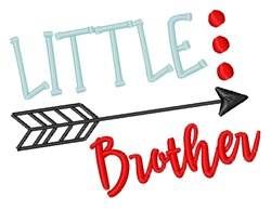 Little Brother Arrow embroidery design