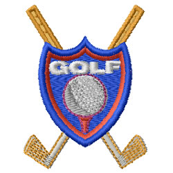 Golf Crest Embroidery Designs Free Machine Embroidery
