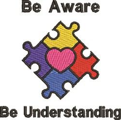 Be Understanding embroidery design