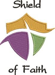 Shield Of Faith embroidery design