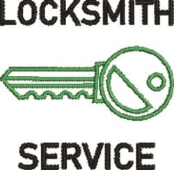 Locksmith Service embroidery design