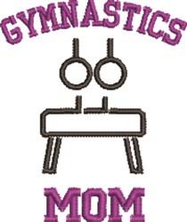 Gymnastics Mom embroidery design