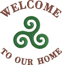 Celtic Family Symbol 1A embroidery design