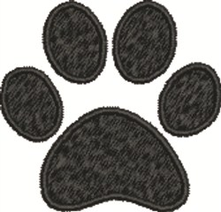 Paw Print embroidery design