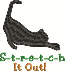 Stretch It Out embroidery design