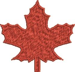 Canada Maple Leaf embroidery design