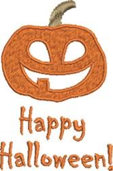 Pumpkin Halloween embroidery design