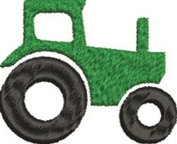 Farm Tractor embroidery design