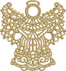 Angel Swirls embroidery design