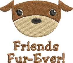 Dog Friends embroidery design