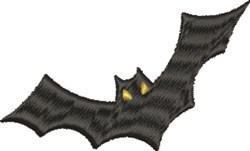 Flying Bat embroidery design
