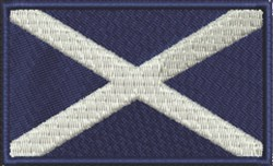 Scotland Flag embroidery design