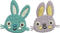 Hoppy Easter Bunnies embroidery design