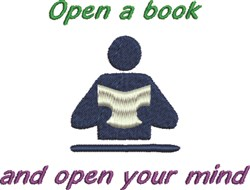 Read Water Your Mind embroidery design