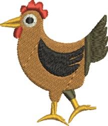 Chicken Bird embroidery design